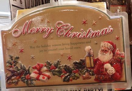 セリア クリスマス パネル