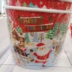 セリア クリスマス バケツ