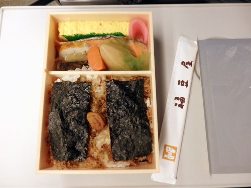 東京駅 駅弁 海苔のりべん