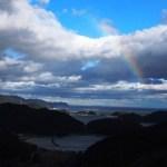 【熊野古道伊勢路の体験記】虹と海と山!絶景とグルメ!一石峠→三浦峠→始神峠(2日目)