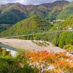 関西の紅葉!カップルにおすすめは「谷瀬のつり橋」紅葉ドライブ&ドキドキ体験でカップル急接近!