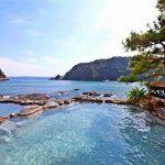 那智の滝の観光におすすめ宿泊施設!日帰り温泉!海が見える露天風呂!