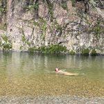 熊野の自然でヨガ!宿泊はサンサロカフェ!川で泳いでマーメード⁈