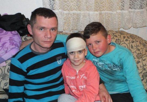 Апел за помош за малата Биле од Кратово која боледува од тумор на мозок