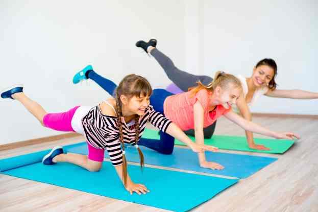 yoga for preteens, yoga for teens, kids yoga, teach yoga to youth, teach yoga in school, yoga for balance, bird dog pose