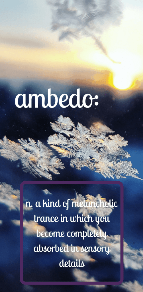 ambedo, dictionary of obscure sorrows, emotions, short story self-care, emotional wellbeing