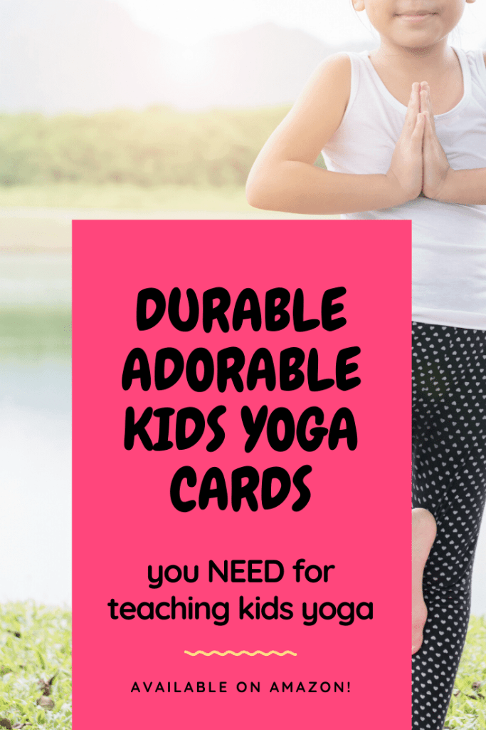yoga cards for kids, kids yoga pose cards