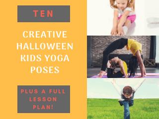 Creative Halloween Yoga Poses for Kids