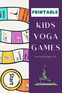 printable kids yoga games with tons of kids yoga pose images and descriptions
