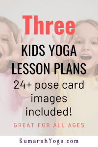 lesson plan for kids yoga