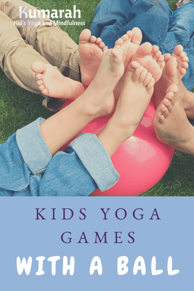 kids yoga games with a ball, games to play with a ball indoors