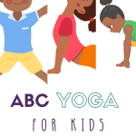 ABC yoga poses for kids, kids yoga animal poses