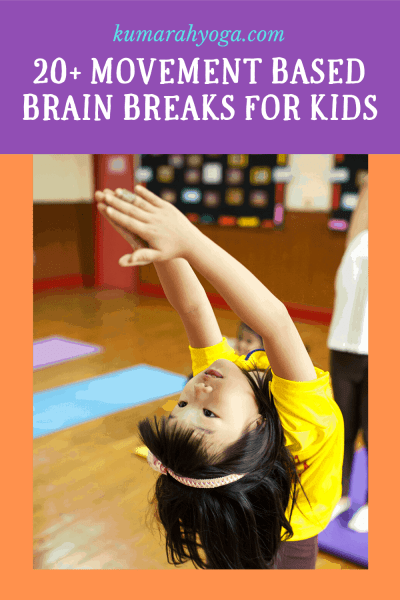 brain breaks for kids, movement breaks for kids with yoga, kids yoga and brain breaks