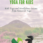 st patricks day themed yoga for kids, kids yoga poses for ireland themed yoga, irish yoga lesson for kids