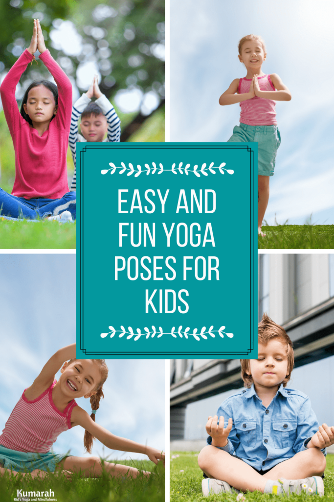 fun themed kids yoga poses with videos