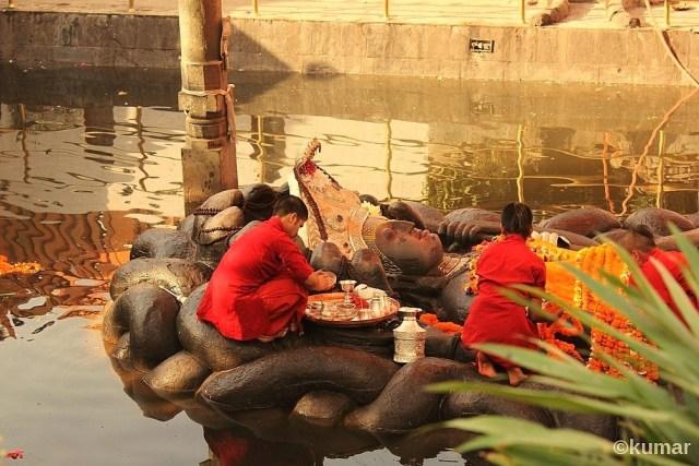 Budhanilkantha Temple, Kathmandu