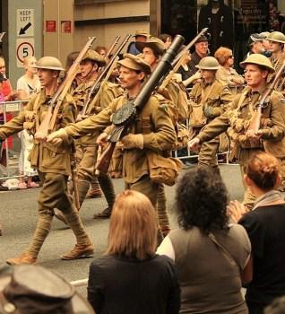 ANZAC Day in Brisbane, Australia