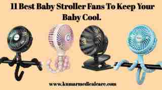 11 Best Baby Stroller Fans for Baby To Keep Your Baby Cool
