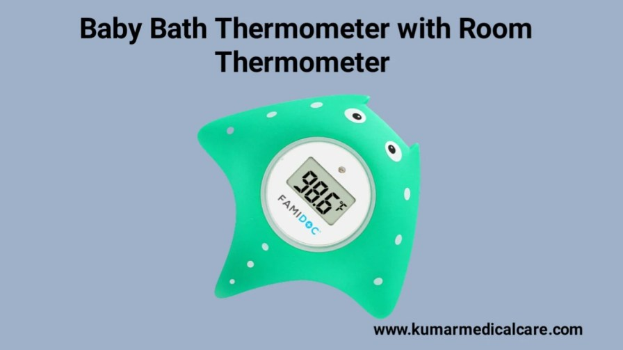 Baby Bath Thermometer with Room Thermometer
