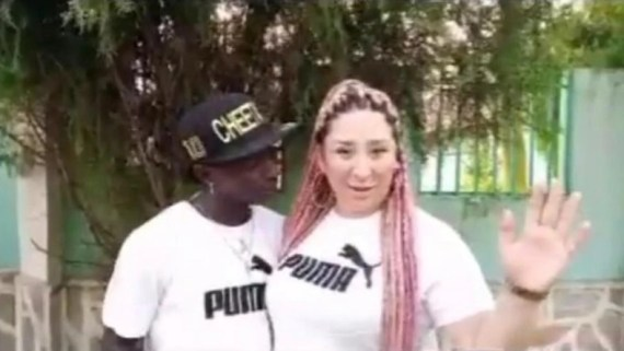 Patapaa and fiancee
