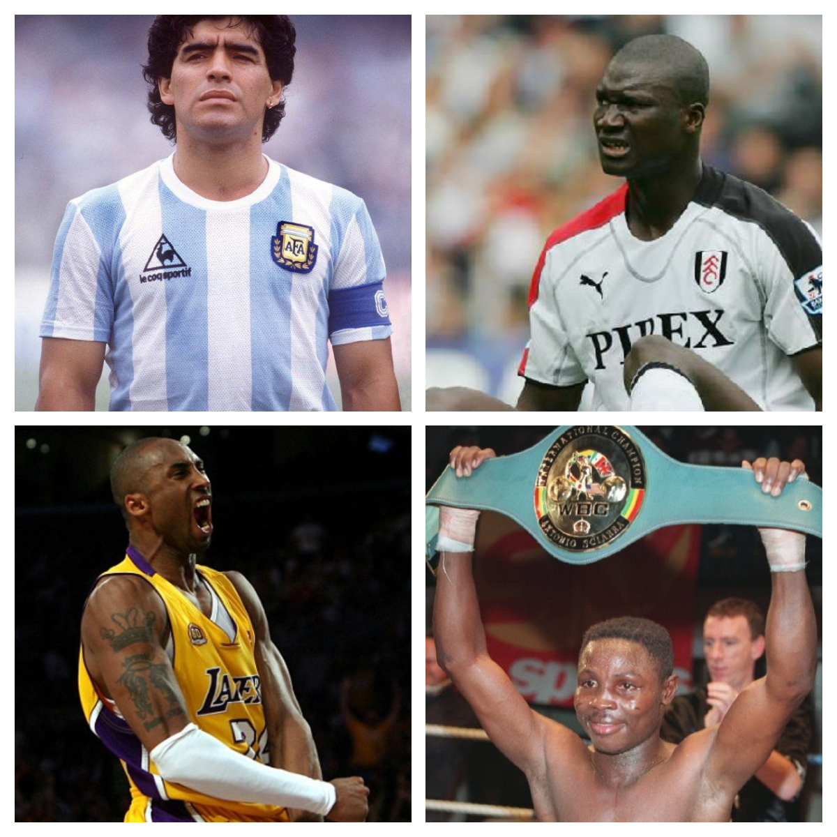 Sports personalities who died in 2020