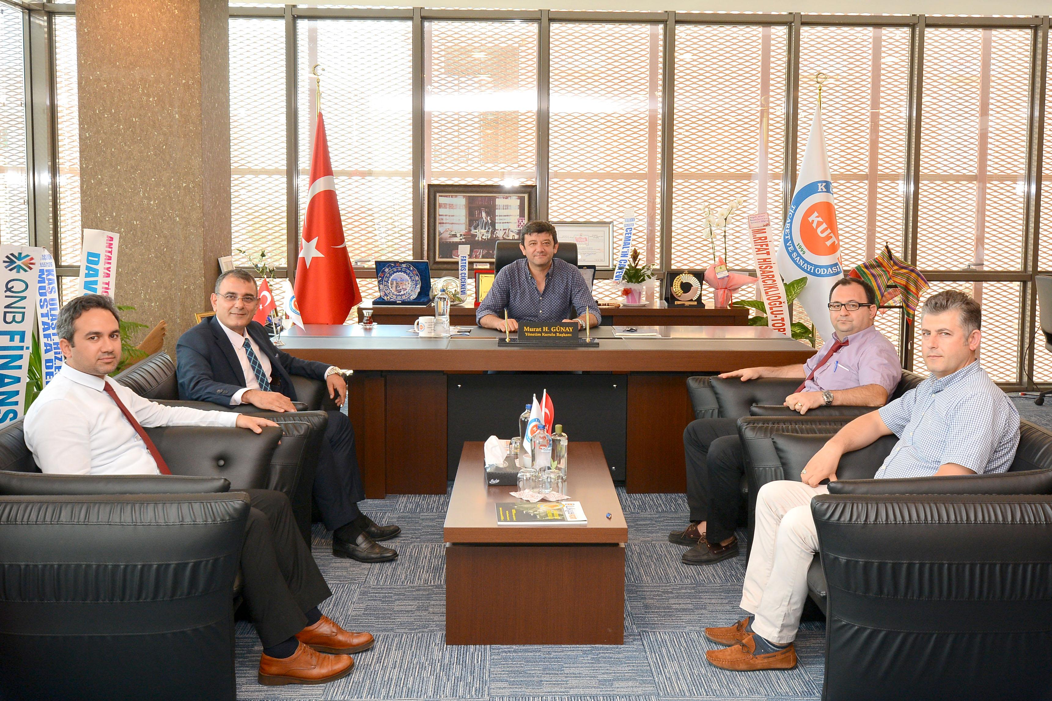 KOSGEB Antalya İl Müdüründen ziyaret.