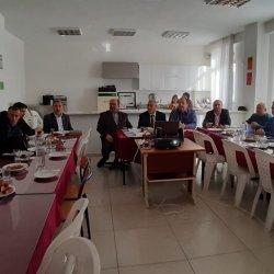 Kumluca İlçe Milli Eğitim Müdürlüğü tarafından düzenlenen Okul-Sektör İşbirliği İstişare toplantısına katıldık.