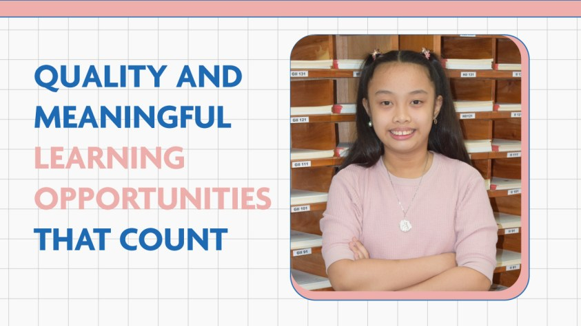 Quality and Meaningful Opportunities that count2-01