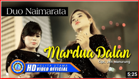 Lirik Lagu Mardua Dalan ~ Duo Naimarata