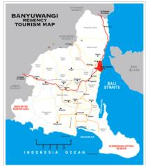Gambar peta Banyuwangi