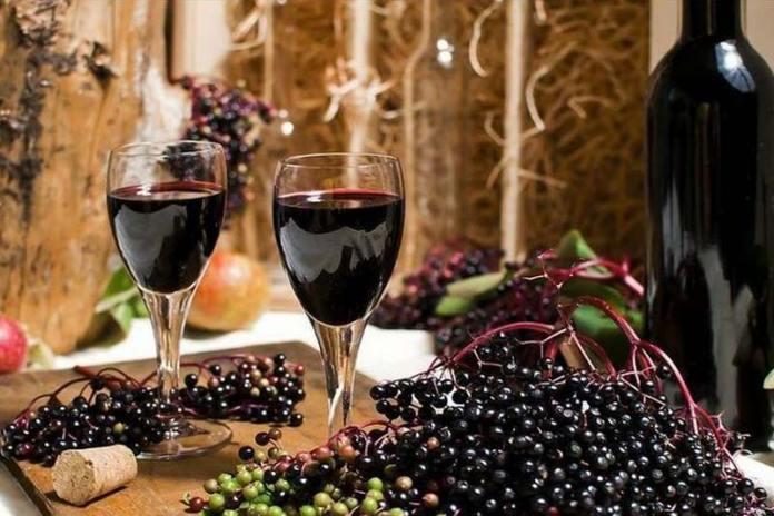 Вино из чёрной бузины