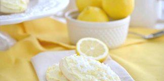 Простое лимонное печенье
