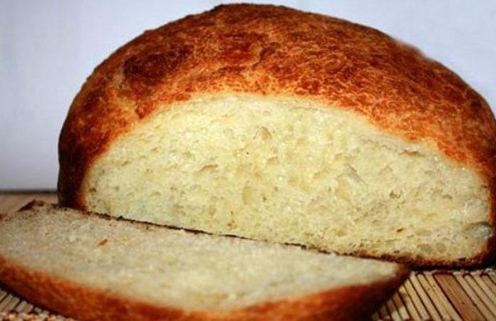 Картофельный хлеб с хреном