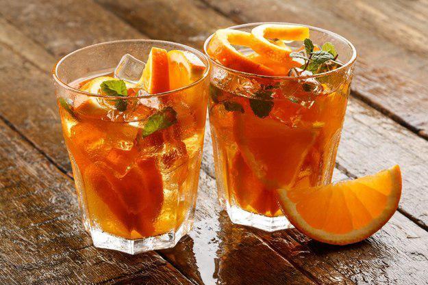 Апельсин + ревень