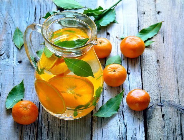 Мандарин + апельсин