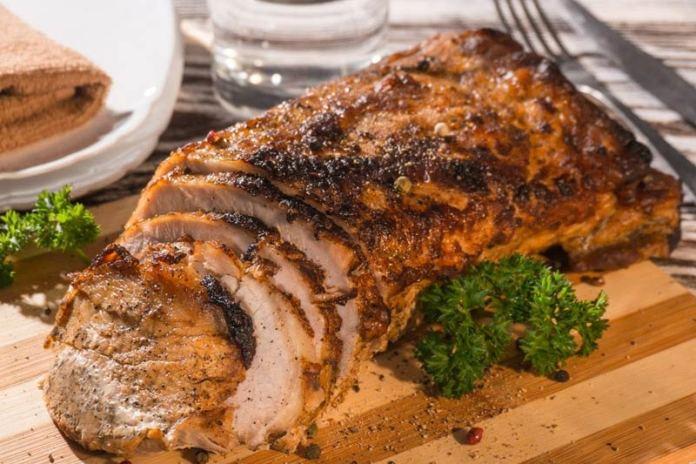 Готовим мясо огромным куском
