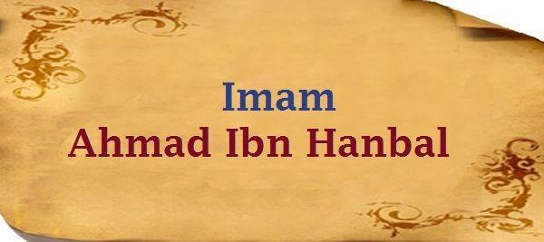 Imam Ahmad bin Hanbal, Imam Ahlis Sunnah Wal Jamaah
