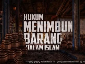 hukum menimbun barang dalam islam