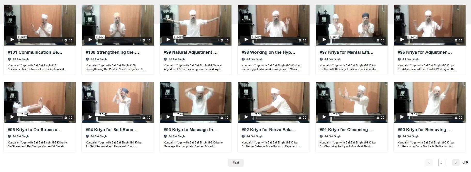 vimeo kundalini yoga classes