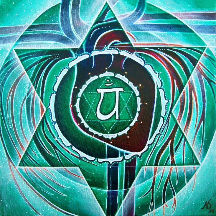 Reis door de chakra's – Alchemie van  Liefde: Het Hartchakra