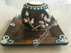 Wooden Candle Stand -2