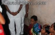 ಮೃತ ಅಕ್ಷತಾ ಮನೆಗೆ ಮಾಜಿ ಸಚಿವ ವೀರಪ್ಪ ಮೊಯ್ಲಿ ಭೇಟಿ
