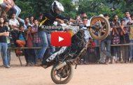Team RDX bike stunt at Kundapura
