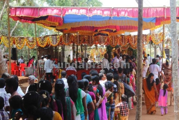 Heranjalu Shri Durgapameshwari Temple - Brahma Kalashotsava (8)