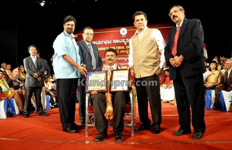 Aryabhata award Balakrishna Maddodi