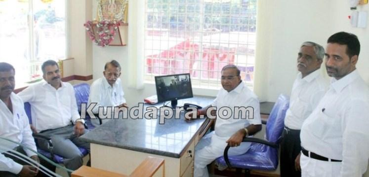 Sagar Credit Co operative Hemmady Branch inaugurated (1)
