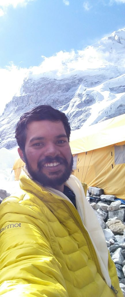 Kundapura origin Harshad Rao climbed mount everest1