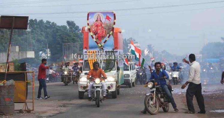 Tiranga Yatre - Bike Rally in Kundapura (1)