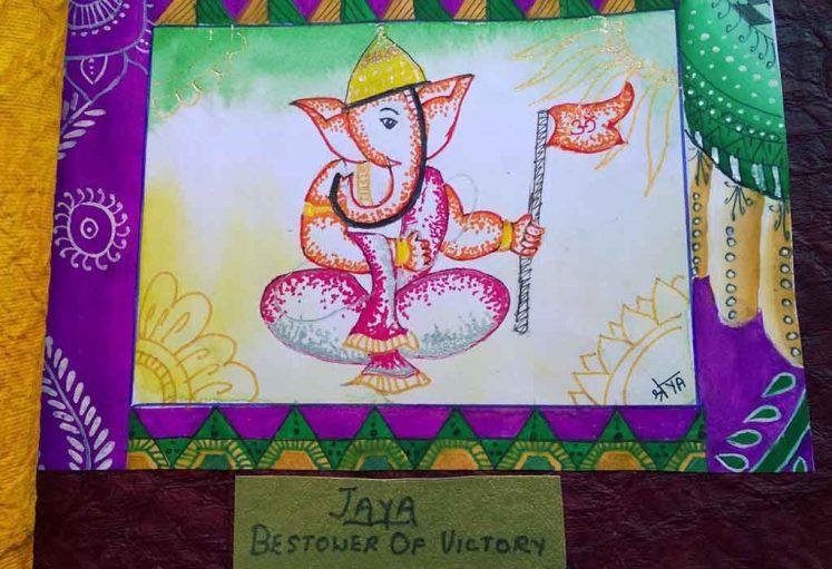 Shreyas Ganapathi Art - Jaya