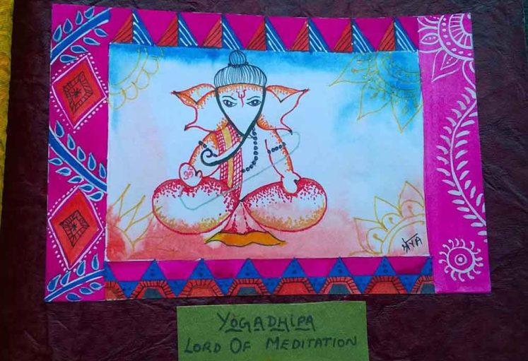 Shreyas Ganapathi Art - Yogadhipa